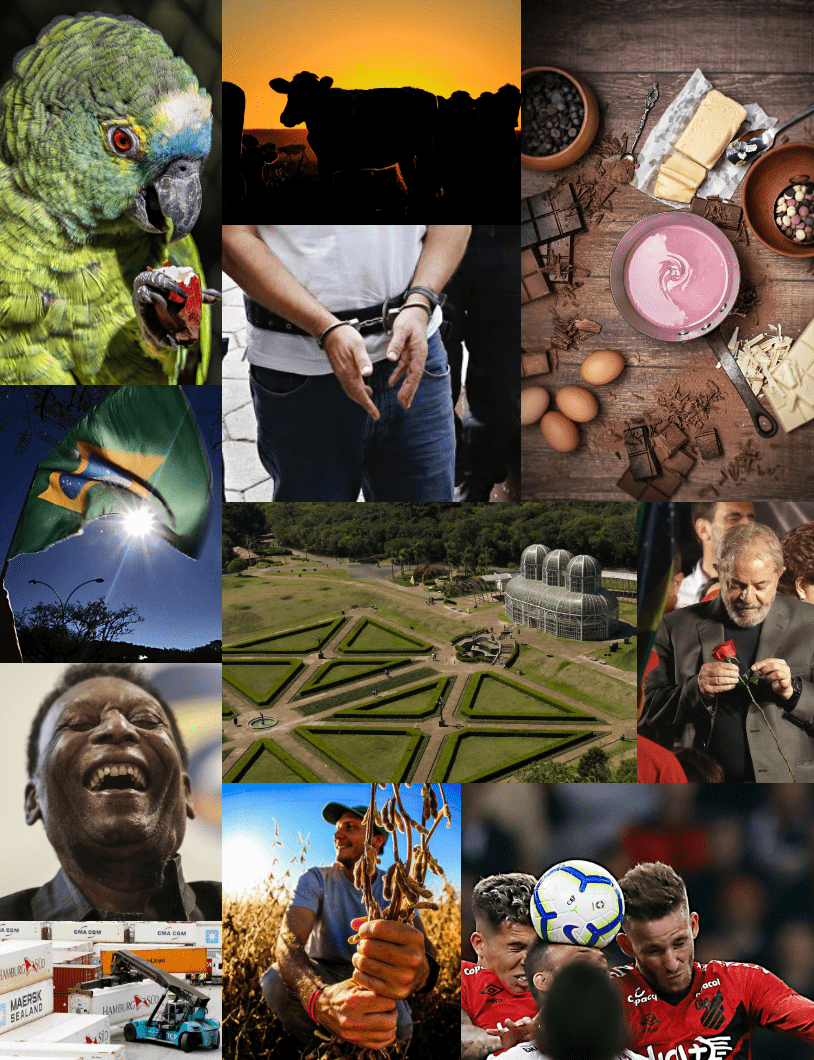 Mix de imagens produzidas pela agência de fotografia da Gazeta do Povo.