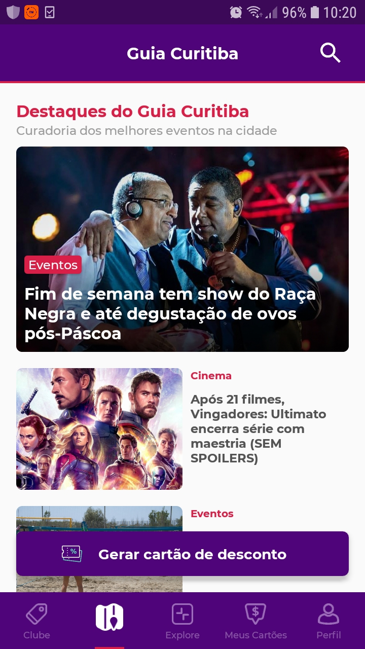 Guia + Clube