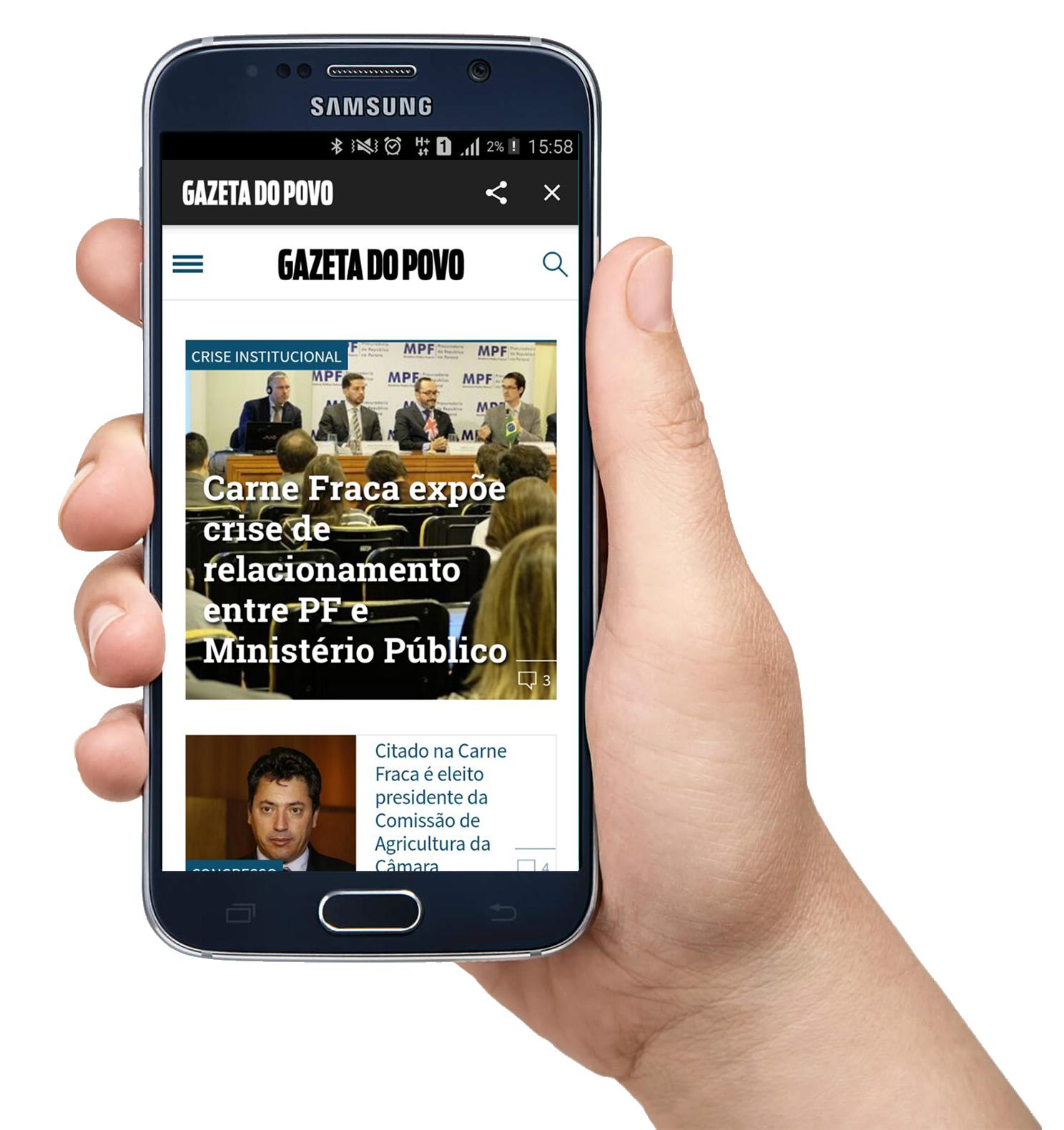aplicativo Gazeta do Povo